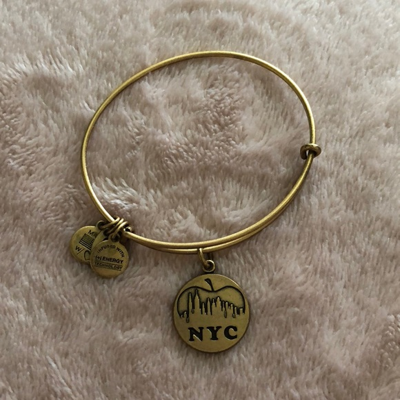 b7d1daafe Alex and Ani Jewelry - Alex and Ani New York City NYC Charm Bracelet